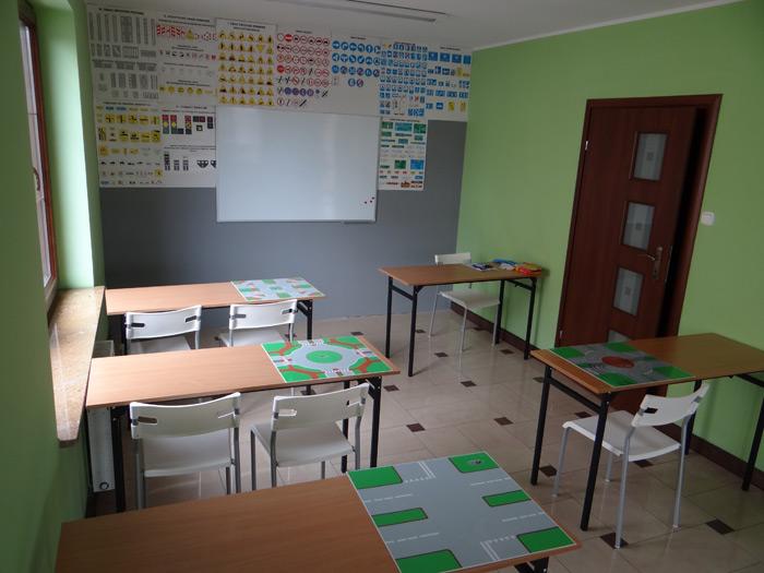 Sala wykładowa Auto Szkoła ISKRA